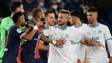 Foto van de wedstrijd waar Gonzalez 'aap' zou hebben geroepen naar Neymar
