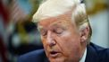 Op deze foto zie je de Amerikaanse president Donald Trump.