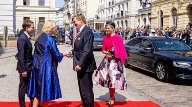 Koning benadrukt belang sterk Europa in Schwerin