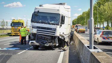 Veel ongelukken door buitenlandse truckers