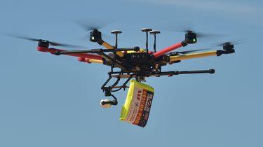 Drones smokkelen drugs Britse gevangenissen in. / AFP