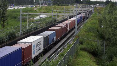 ProRail begint test met langzaam rijdende goederentreinen