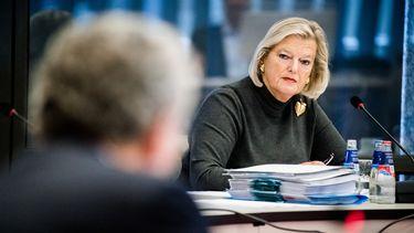 Op deze foto is staatssecretaris Ankie Broekers-Knol te zien.