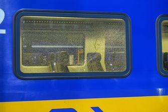 Opnieuw een trein beschoten