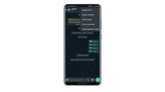 Een foto van Telegram via Android