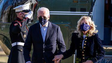 Jill Biden de vrouw van Joe Biden