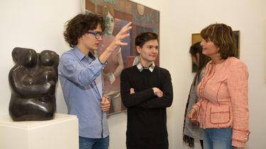 Pop-up museum(week) van scholieren in 'kunstenaarsdorp'