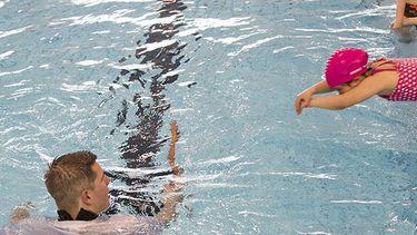 foto van zwemles