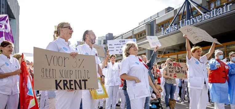 actie ziekenhuizen zorg corona