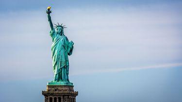 Het Vrijheidsbeeld in New York. Foto: ANP