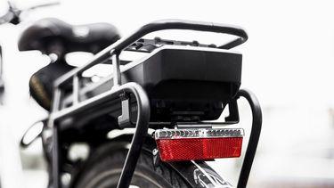 Op deze foto zie je een e-bike