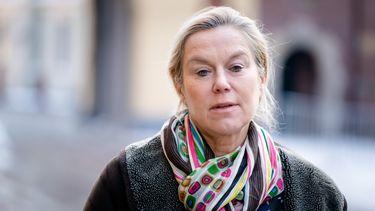 Een foto van Sigrid Kaag die voor D66 deelneemt aan de verkiezingen