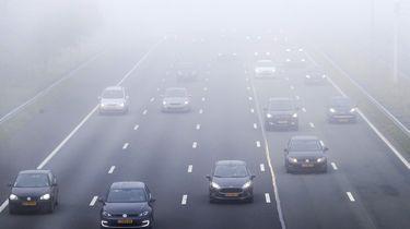 Verkeershinder: dikke mist Utrecht en Zuid-Holland