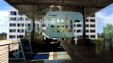 Schutter actief bij hoofdkantoor Youtube. / AFP