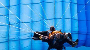 foto van skydiver