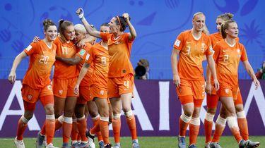 Oranje Leeuwinnen naar kwart finales WK voetbal