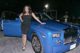 Een foto van een Rolls-Royce Phantom als uit Massa is Kassa