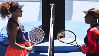 tennis tennisster Naomi Osaka Serena Williams