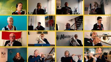 NS Orkest speelt Wilhelmus vanuit huis