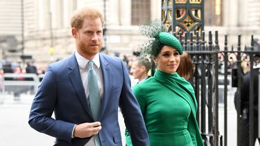 Prins Harry en Meghan helpen zieken in Los Angeles