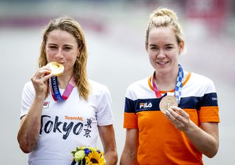 Olympische Spelen Annemiek van Vleuten Anna van der Breggen