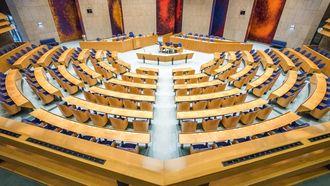De plenaire zaal in de Tweede Kamer - ANP