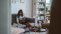 introvert is thuis aan het werk