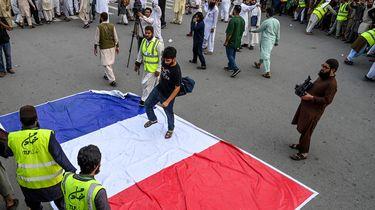 foto van protest Pakistan