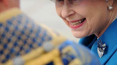 Koningin Elizabeth.