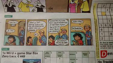 De strip Snippers staat dagelijks in Dagblad Metro.