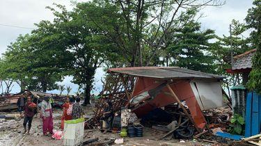 Zeker 168 doden door tsunami Indonesië