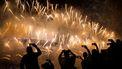 Een foto van het beroemde vuurwerk in Sydney