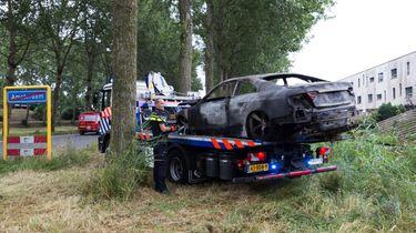 Mogelijke vluchtauto aanslag Telegraaf gevonden