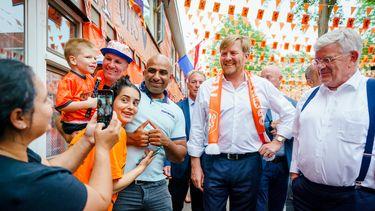EK, koning, Willem-Alexander, oranjestraat