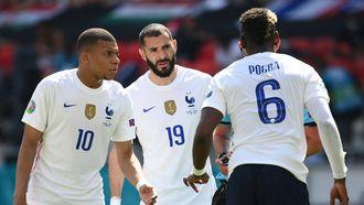 Hongaarse fans maakten racistische apengeluiden naar Mbappé en Benzema