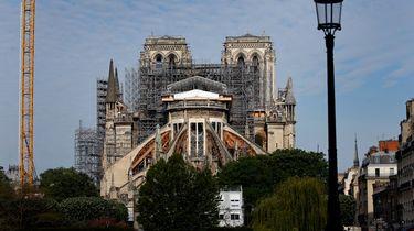 Bouwvakkers mogen weer bouwen aan Notre-Dame