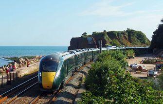 oot-Brittannië trein reizen