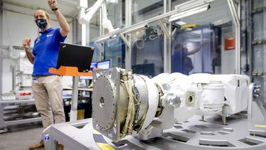 robotarm ruimtestation ISS André Kuipers