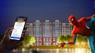 Zo ziet het nieuwe Marvel-hotel in Disneyland Paris eruit