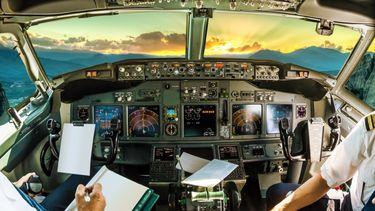 Piloot neemt adembenemende foto's vanuit cockpit