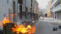 Brandstichting op Curacao tijdens een protest tegen de regering