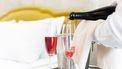 foto van champagne in hotel