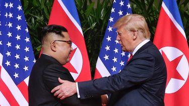 Trump en Kim Jong-un