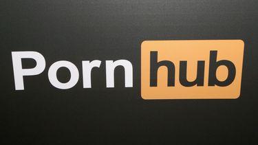 Een logo van Pornhub