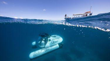 Nu ook een Uber-duikboot: naar Great Barrier Reef
