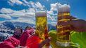 Foto van twee bier in Oostenrikk