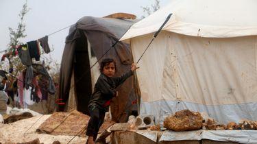 Zeldzaam aantal kinderen op de vlucht