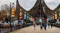 Een foto van de ingang van de Efteling
