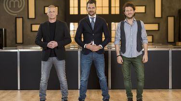 V.l.n.r.: juryleden Stefan van Sprang, Jonathan Zandbergen en Freek van Noortwijk.