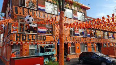 Oranjestraat Oranje Ek voetbal
